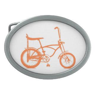レトロのオレンジKrateのバナナの座席バイク 卵形バックル