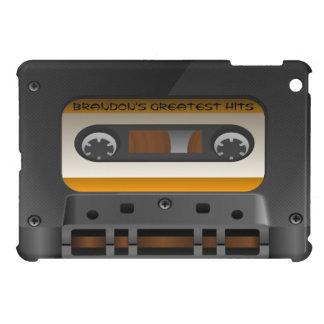 レトロのオーディオ・カセットテープテープカスタムのiPad Miniケース iPad Miniケース