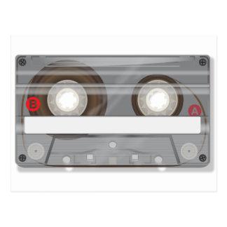 レトロのオーディオ・カセットテープテープ ポストカード