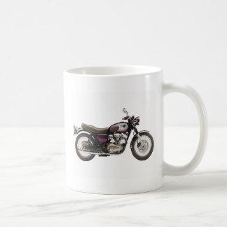 レトロのオートバイ コーヒーマグカップ