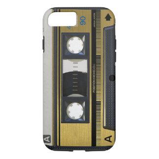 レトロのカセットテープのiPhone 7の場合の皮の80年代の投球 iPhone 8/7ケース