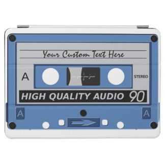 レトロのカセットテープカスタムな装置カバー iPad AIR カバー
