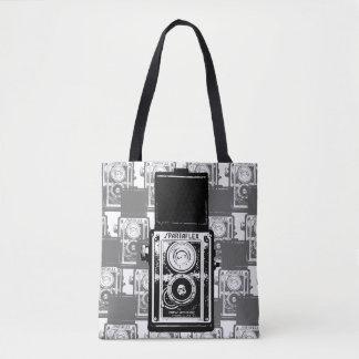 レトロのカメラのトートバック トートバッグ