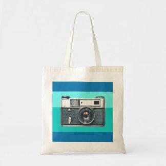 レトロのカメラ トートバッグ