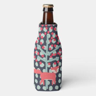 レトロのキツネ ボトルクーラー