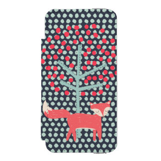 レトロのキツネ INCIPIO WATSON™ iPhone 5 財布 ケース