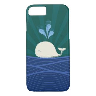 レトロのクジラ iPhone 8/7ケース