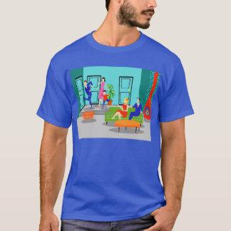 レトロのクラシックなテレビのTシャツ Tシャツ