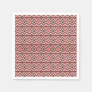 レトロのグラフィック・デザインパターン スタンダードカクテルナプキン