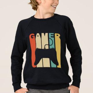 レトロのゲーマー スウェットシャツ