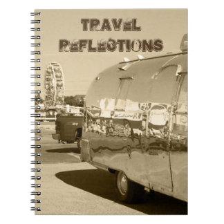 レトロのサファリのノート旅行旅行のトレーラージャーナル ノートブック