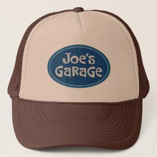 レトロのジョーのガレージのロゴ キャップ