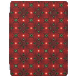 レトロのスタイルのクリスマスArtdeco iPadスマートカバー