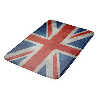 レトロのスタイルのヴィンテージの質感の英国国旗のイギリスの旗 バスマット