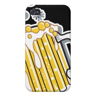レトロのスタイルビールグラフィック iPhone 4/4Sケース