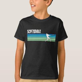 レトロのソフトボール Tシャツ