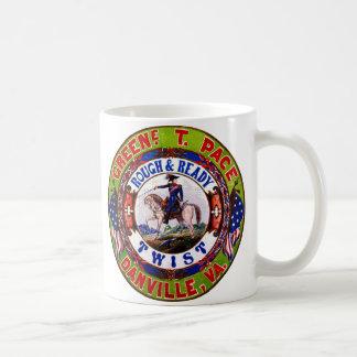 レトロのタバコのラベル1855年 コーヒーマグカップ