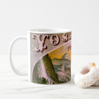 レトロのタバコのラベル1872年のb コーヒーマグカップ