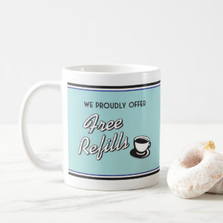 レトロのダイナーのコーヒー・マグ-レトロのスタイル コーヒーマグカップ