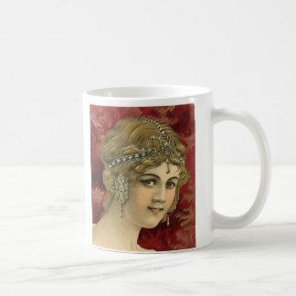 レトロのチャーム コーヒーマグカップ