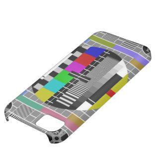 レトロのテレテキストパターンiPhone 5 Case mate iPhone5Cケース
