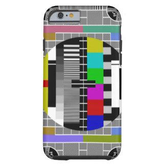 レトロのテレテキストパターンiPhone 6 ケース