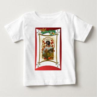レトロのデザインの感謝祭の衣服 ベビーTシャツ
