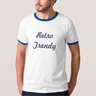 レトロのトレンディー Tシャツ