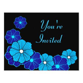レトロのハワイの招待状 カード