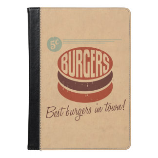 レトロのハンバーガー iPad AIRケース