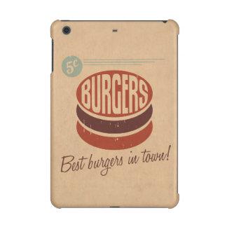 レトロのハンバーガー iPad MINI RETINAケース