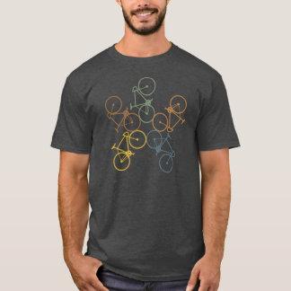 レトロのバイクのTシャツ Tシャツ