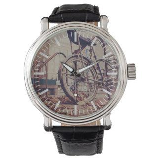 レトロのバイク 腕時計