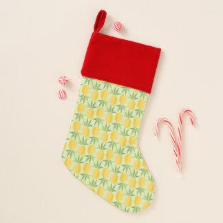 レトロのパイナップル クリスマスストッキング
