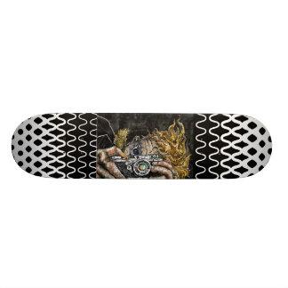 レトロのヒップスターSelfie スケートボード