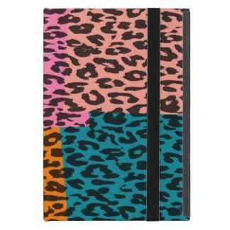 レトロのヒョウのプリントの毛皮21 iPad MINI ケース
