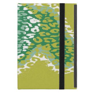レトロのヒョウのプリントの毛皮2 iPad MINI ケース