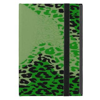 レトロのヒョウのプリントの毛皮7 iPad MINI ケース