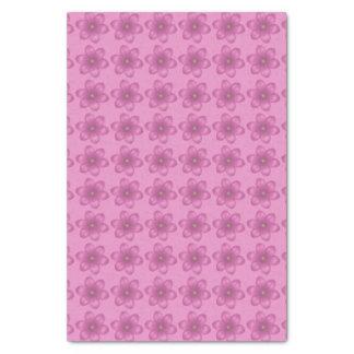 レトロのピンクの花柄 薄葉紙
