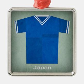 レトロのフットボールジャージー日本 メタルオーナメント