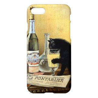"""レトロのフランスのな""""アブサンブルジョア"""" iPhone 8/7 ケース"""