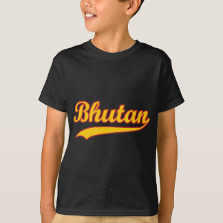 レトロのブータン Tシャツ