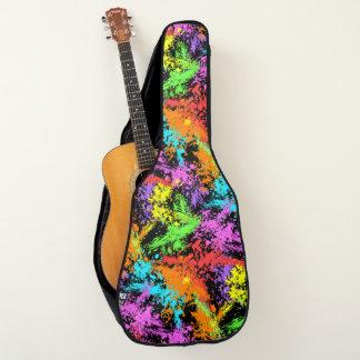 レトロのペンキのしぶき ギターケース