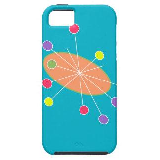 レトロのモダンなiPhone 5の場合の遊園地 iPhone SE/5/5s ケース