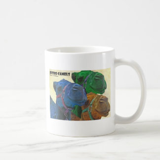 レトロのラクダ コーヒーマグカップ