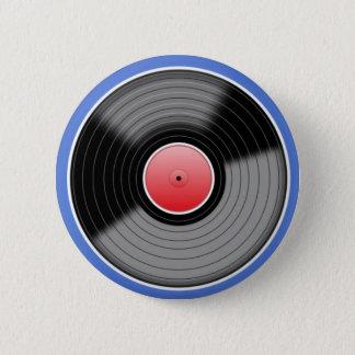 レトロのレコードPinのバッジ 缶バッジ