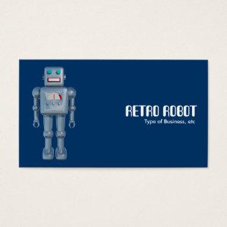 レトロのロボット 名刺
