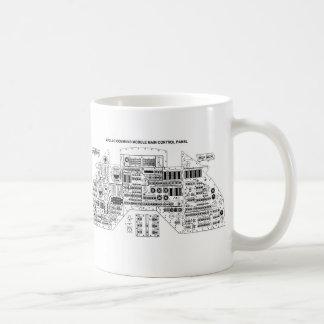 レトロのヴィンテージのサイファイのアポロコマンド・モジュール コーヒーマグカップ