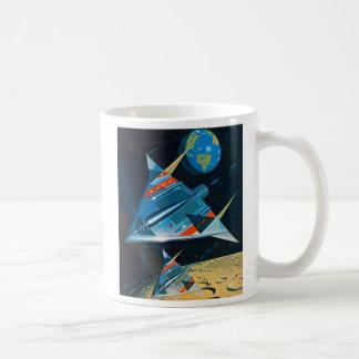 レトロのヴィンテージのサイファイNASAの宇宙飛行L-15 コーヒーマグカップ