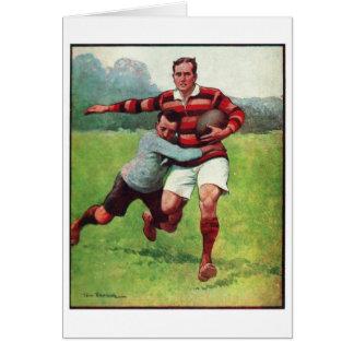 レトロのヴィンテージのスポーツの英国のラグビー カード
